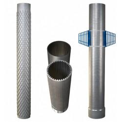 Plieniniai vamzdžiai ir filtrai