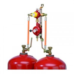 Dujų balionų reguliatoriai ir kita įranga