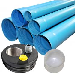 PVC vamzdžiai ir filtrai