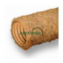 PVC drenažo vamzdis su kokoso plaušo filtru 58 / 50 mm (50m)