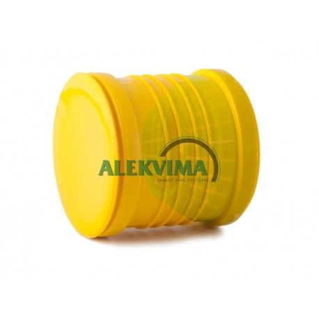 Universali aklė drenažo vamzdžiui 72-100 mm
