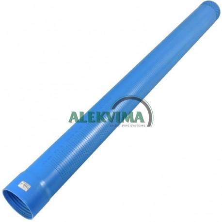 PVC plyšinis filtras d88x4.0mm su sriegine jungtimi