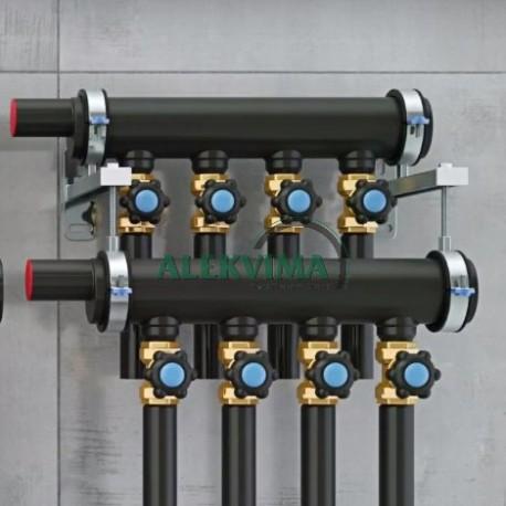 Kolektoriai su ventiliais (2-30 atšakų)