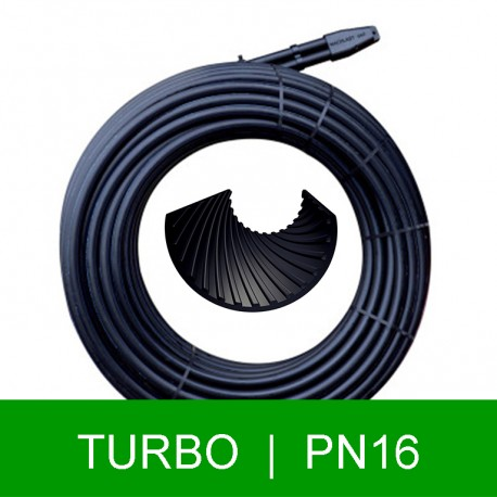 Geoterminis zondas TURBO 2xd40x3.7mm (100-160m)