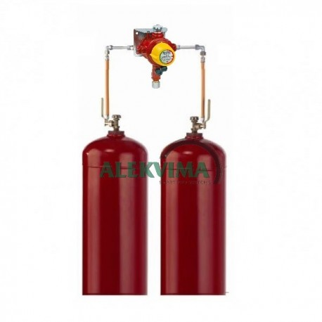 Įranga 2 balionų pajungimui 4 kg/h