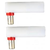 HÜRNER 4 mm FF adapteriai suvirinimo kabeliui