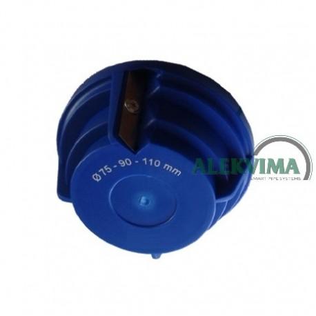 Užvartų šalinimo drožtukas 75 - 110 mm vamzdžiams