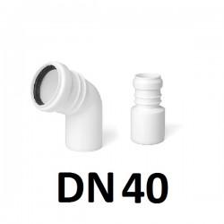 PP jungtys DN40
