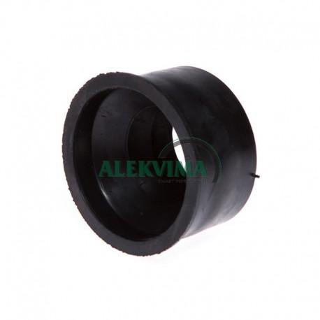 Guminė tarpinė perėjimas iš ketaus 72 mm į plastiką 50 mm