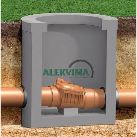 Atbulinis kanalizacijos vožtuvas DN 200 mm