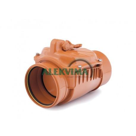 Atbulinis kanalizacijos vožtuvas DN 160 mm