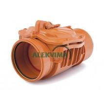 Atbulinis kanalizacijos vožtuvas DN 110 mm