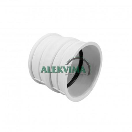 PVC sieninė mova - protarpis trumpas DN110 L-110 mm