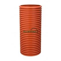 PVC gofruotas šulinio stovas 315 po 1 - 6 m