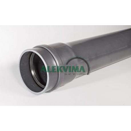 PVC kabelių apsauginiai vamzdžiai