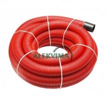 Gofruotas instaliacinis vamzdis kabeliui 50 / 40 mm po 50m, 450N