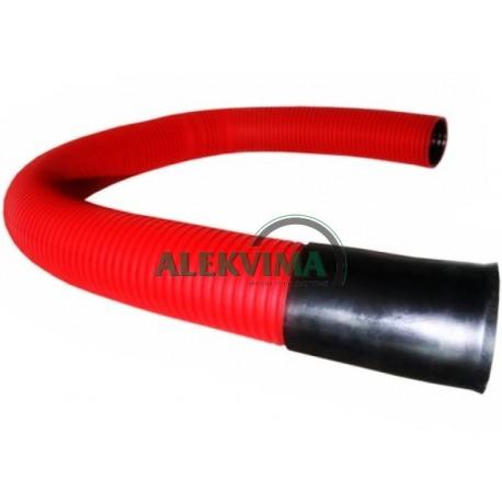 Gofruotas instaliacinis vamzdis kabeliui 160 / 141 mm po 6m, 450N