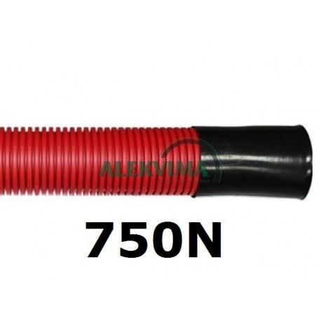 Gofruoti instal. vamzdžiai kabeliui 50-75-110-160mm po 6m, 750N